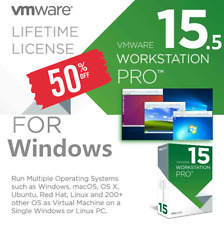 VMware Workstation 15 Pro ⭐Full Version⭐ 🔑Lifetime Keys🔑 ♕Fast Delivery📩