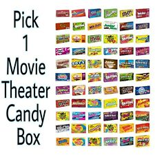 Pick any 1 Movie Theater Candy Box 3-6 oz each: M&M's, Skittles & More