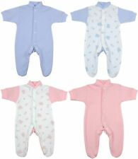 674dad17a BabyPrem 2 x Premature Baby Sleepsuits Babygrows Preemie Girls Clothes  1-7lbs