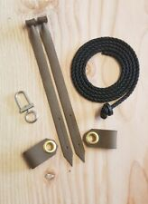 . mews jesses Paracord jesse and tethering set with swivel and flying