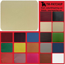 Leather Couch Patch, Genuine Faux Repair, Peel and Stick for Sofas, car Seats
