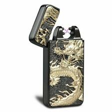 Double Arc Plasma Lighter USB Rechargeable Windproof Flameless Electronic Select
