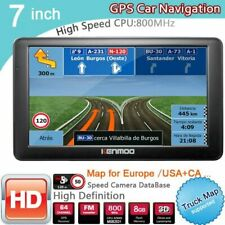 GPS Navigator 7 Inch HD Display Navigation Multifunctional Satnav Car Accessory