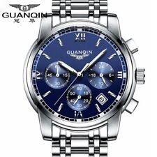 GUANQIN Fashionable Branded Business Watch - Men's / Gents - Stainless Steel