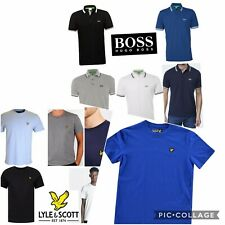 Clearance Sale!Lyle&Scott & POLO Men's Crew Neck Short Sleeve Brand New T-Shirt
