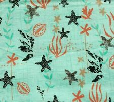 Blue Seaside Nautical Cotton Fabric Craft Quilting Upholstery Fabric Fat Quarter