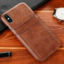 Leather Case For iPhone XS Max XR XS 9 Plus Luxury Back Cover Card Holder Wallet