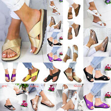 2019HOT! ARRIVAL Summer Soft Womens Comfy Platform Sandal Shoes Sizes 35-43 GIFT