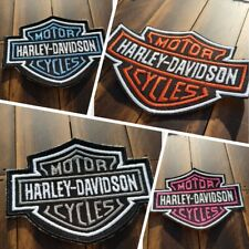 Patch Iron-On or Sew-On Harley-Davidson Logo Embroidered Applique Jacket