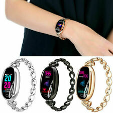 Luxury Women Bracelet Smart Watch Fitness Tracker Heart Rate IP67 Android iOS