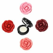 Rose Flower Shape Empty Eyeshadow Case Lipstick Box Cosmetic Packing Container