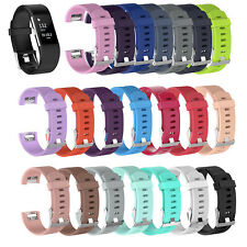 FOR Fitbit CHARGE 2 Replacement Silicone Rubber Bands Strap Wrist Band YG