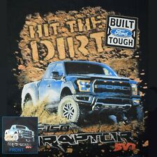 Ford T Shirt F 150 Raptor Off Roading Built Tough Mens Sizes Small to 6XL Tall