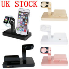 UK For Apple iPhone iWatch Charging Dock Stand Bracket Accessories Holder Kit