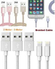 Braided Lightning to USB Cable Data Sync Charger For iPhone 5/6/7/8