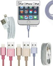 Braided Heavy Duty Lightning to USB Cable Data Sync Charger For iPhone 5/6/7/8