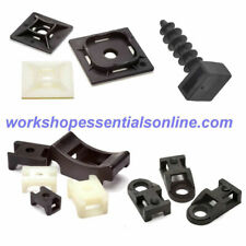 5cfa467c2406 Cable Tie Mounts Self Adhesive-Eyelet Screw Mount-Saddle Cradle-Masonry  Mount