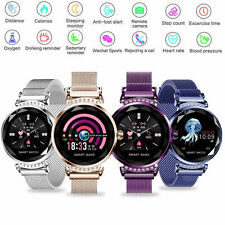 Women Sport Smart Watch Heart Rate Fitness Tracker Sleep Monitor For iOS Android