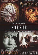 Horror Collector Set (DVD, 2009, 4-Disc Set) NEW