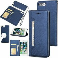 Phone Cover Flip Wallet PU Leather Case iPhone 8 Plus 8 7 6 6S 5S XS Max XR X S