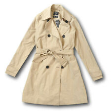 NWT Abercrombie&Fitch-Hollister Women's Classic Khaki Trench Coat Spring Jacket