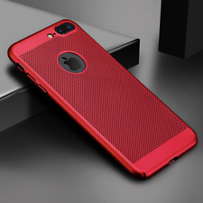 Ultra Slim Phone Case For iPhone X XS 5 6 7 8 Plus Hollow Heat Dissipation Cases