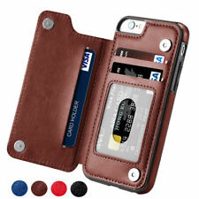 For iphone 11 Pro MAX XR XS Max 8 7 6S + Magnetic Leather Card Slot Wallet Case