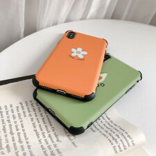 IMD Anti-knock Matte Flower Avocado Back Case For iPhone XS Max XR X 8 7 6s Plus