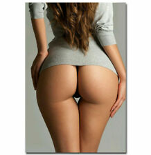 249648 Motivational Hot Butt Sexy Girl Big Ass Model Woman Home PRINT POSTER CA