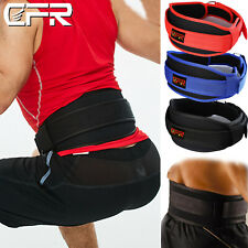 Gym Weight Lifting Belt Brace Support Crossfit Belt Weightlifting Fitness Black