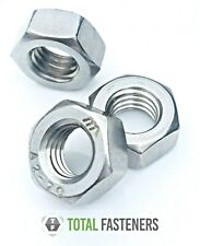 M1.6 - M36 HEXAGON METRIC FULL NUTS A2 STAINLESS STEEL FULLNUTS