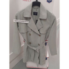 ABERCROMBIE & FITCH WOMENS DRAPEY TRENCH COAT JACKET MINT SIZE MEDIUM