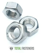 """1/4"""" 5/16"""" 3/8"""" 7/16"""" 1/2"""" 5/8"""" UNC HEXAGON FULL NUT A2 STAINLESS STEEL IMPERIAL"""