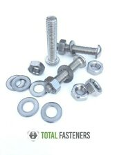 BUTTON HEAD SCREWS ALLEN SOCKET BOLTS HEX FULL NUTS & WASHERS A2 STAINLESS STEEL