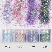 Mermaid Holographic Glitter Chunky Powder Eye Shadow  Nail Art Face Body Makeup