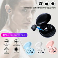 Bluetooth Wireless Mini Earbuds TWS 5.0 Headsets Stereo Earphone for IOS Android