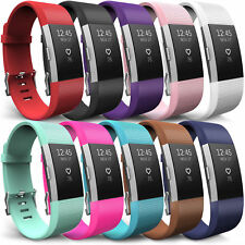 For Fitbit Charge 2 Wrist Straps Wristbands Replacement Silicone Sports Strap