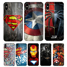Marvel Captain America Shield Superhero Case Cover for iPhone XS Max XR X 10 7