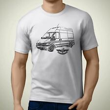 ORANGE QUALITY HEAVYWEIGHT KOOLART TSHIRT FORD ESCORT VAN