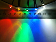 12 Volt 3mm Pre Wired Bright LED Lamp, 12V Various Colours, Clear Lens Indicator