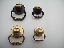 ANTIQUE/BRASS FURNITURE CUPBOARD CABINET DRAWER DOOR DROP RING  PULL HANDLES