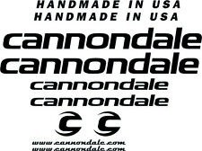 KIT ADESIVI STICKERS DECAL TUNING BICI BIKE CANNONDALE