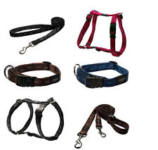 Rogz Everest: Ex Large Dog Training  Webbing Leads Collars And Harnesses