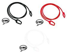 New Knog Ring Master Cable Coil Bike Lock Braided 2200cm 3 Colours Avail. KL092