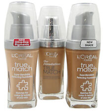 Loreal Paris True Match Perfecting  Foundation 30ml
