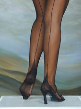 ELEGANTI FULLY FASHIONED STOCKINGS POINT HEEL VARIOUS COLOURS AND SIZES PERFECTS