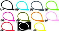 KNOG PARTY FRANK BIKE CABLE COIL LOCK 620MM X 12MM. CHOICE OF 11 COLOURS. KL010/