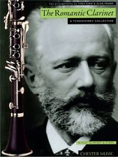 The Romantic Clarinet A Tchaikovsky Collection Play Piano Sheet Music Book