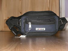 Waist/Bumbag With 2 Front Pockets 7 Zip Compartments And Adjustable Strap.