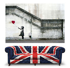 Banksy Balloon Girl Heart Giant Wall Art Print Picture Poster Hope Baloon 008